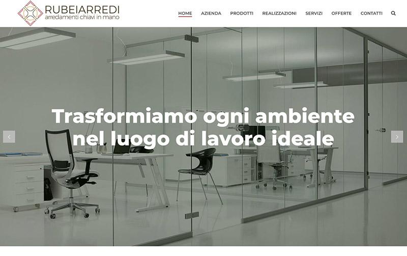 sito web desktop rubei