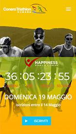 sito web mobile conero triathlon