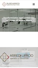 sito web mobile rubei